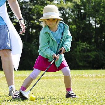 Swingolf – Spaß für die ganze Familie garantiert.
